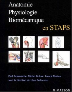 Anatomie physiologie et biomécanique en STAPS